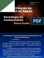 ADMINISTRAÇÃO DA EDUCAÇÃ NO BRASIL