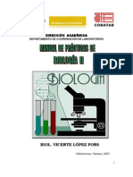 Manual de Biología II 2007-B