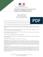 Arrêté 25 Septembre 2020 Mesures de restriction COVID en Haute-Garonne