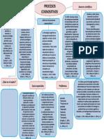 mapa conceptual procesos cognositivos