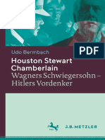 Udo Bermbach (auth.) - Houston Stewart Chamberlain_ Wagners Schwiegersohn — Hitlers Vordenker-J.B. Metzler (2015)