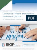 Brochure EIGP-PMP 2015