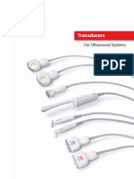 Aplio Series Radiology and Shared Service Transducers