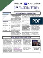 Gavilan College EOPS/CalWORKS Newsletter Spring 2011