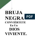LA BRUJA NEGRA