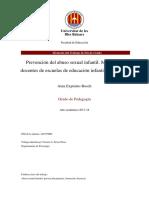 PREVENCIÓN DEL ABUSO SEXUAL INFANTIL. MODELO PARA DOCENTES DE ESCUELAS DE EDUCACIÓN INFANTIL Y PRIMARIA. -  AINA EXPOSITO -50