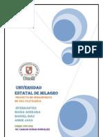 Proyecto pasteleria-presupuesto