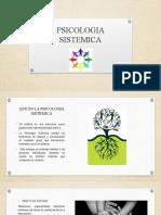 PSICOLOGIA SISTEMICA