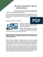 3. Protección de sus datos y su privacidad.pdf