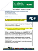 APORTE GRUPAL DESARROLLO PERSONAL 2020