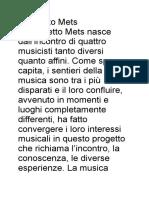 Descrizione Quartetto Mets.rtf