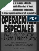 Operaciones Especiales - Pavel Sudoplatov , Anatoli Sudoplatov