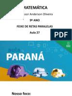 AULA 27 - 9º ANO AULA PARANÁ (1)