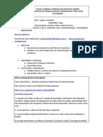 TPD N° V - LENGUA Y LITERATURA - 6° AÑO