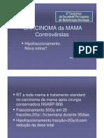 D104 CARCINOMA da MAMA Controvérsias
