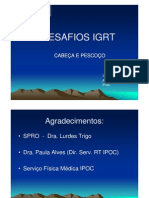 D107 DESAFIOS IGRT - CABEÇA E PESCOÇO