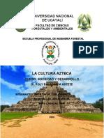 8.2 CULTURA AZTECA