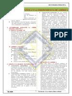 SESIÓN N° 05 CRISIS POLÍTICA ESPAÑOLA Y LA INDEPENDENCIA DE AMÉRICA 3° Sec - IIIB