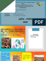 LINEA DE TIEMPO DE LA EPIDEMIOLOGIA