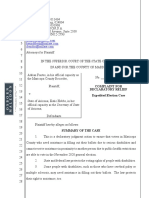 Fontes-State of AZ - Complaint With Exhibits a-C