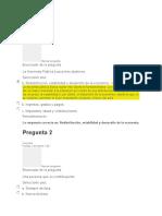 Evaluaciones Régimen Fiscal de La Empresa