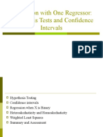 Regression with One Regressor-Hypothesis Tests and Confidence Intervals.ppt
