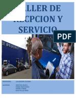 recepcion y servicio unidad 3