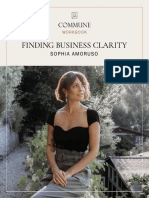 Finding Business Clarity WORKSHEETS FINAL (1)