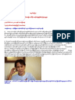Current Movement of NLD in BURMA From (24.12.2010) to ( 28.1.2011 )