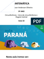 AULA 32 - 9º ANO AULA PARANÁ