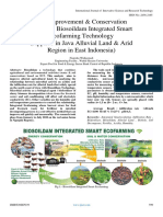 Soil Improvement & Conservation Based on Biosoildam Integrated Smart Ecofarming Technology (Applied in Java Alluvial Land & Arid Region in East Indonesia)