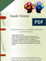 Aula - Saúde Mental