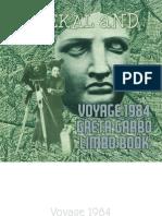 Voyage 1984 Greta Garbo Limbo Book by mIEKAL aND