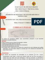 CAP 7 CORREAS Y POLEAS