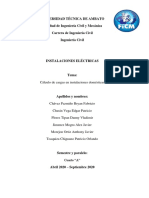 Càlculo De Cargas en Instalaciones domesticas FINAL 1