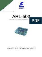 ARL-500 PROGRAMMING MANUAL V18 FR.PDF.pdf