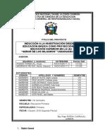 INFORME SEGUNDO PARCIAL 2019