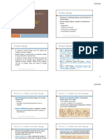 Product design and process selection
