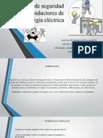Exposiciòn de distancias de seguridad riesgo electrico
