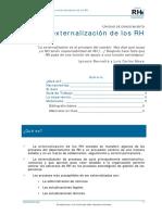 Externalización RH