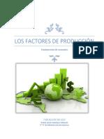 Los factores de producción