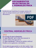 APROVECHAMIENTOS HIdroelectricos 1
