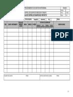 PGI-03-01 Hoja de Control de Equipos Proyectos