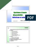Haute disponibilité.pdf
