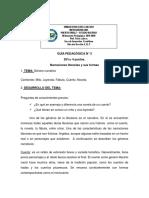 GUIA PEDAGOGICA N° 3 CASTELLANO 2DO AÑO