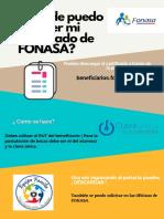 ¿ Donde puedo obtener mi certificado de FONASA?