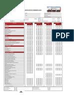 Check List de Inspección de  Encapsulado,Plataforma,Cisterna,Bombona - Estandar (MMG) - HOMOLOGACION
