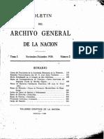 Archivo General de la Nación 1930 2