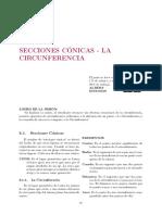 S08.s1 - SECCIONES CÓNICAS_CIRCUNFERENCIA