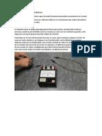 FUNCIONAMIENTO DEL VATÍMETRO y marco teorico